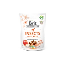 Brit Care Dog Crunchy Cracker. Insects with Turkey 200g