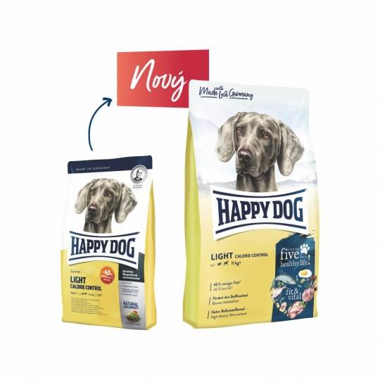 Happy Dog Fit & Vital Light Calorie Control  12,5 kg + DOPRAVA ZDARMA
