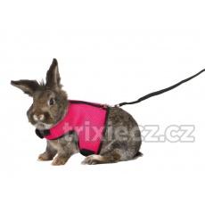 TRIXIE Postroj VESTA s vodítkom veľkého králíka 25-40cm/1,20m