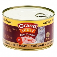 Grand SuperPremium Cat Kuracie 405 g