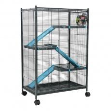 Zolux Klietka INDOOR 2 Maxi Loft modrá/šedá