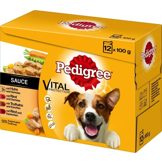 Pedigree Vital Protection Kapsičky  12 x 100 g