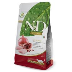 N&D Cat Prime Neutered Chicken & Pomegranate 1,5 kg