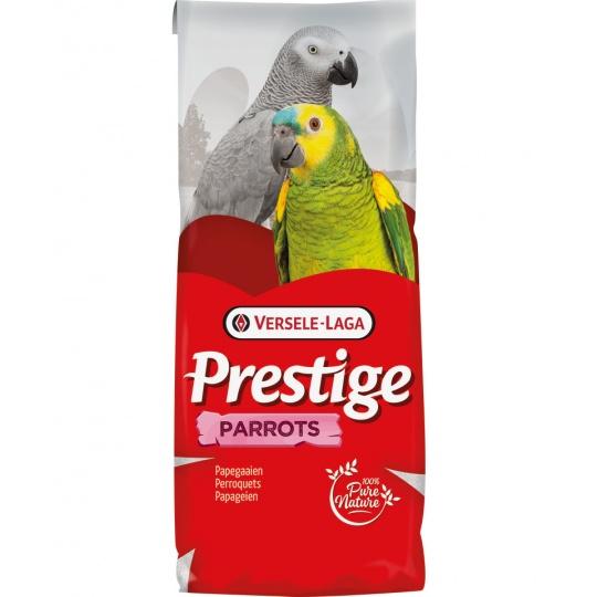 Versele Laga Prestige Parrots Fruit Mega - zmes pre veľké papagáje, s pufovanými obilninami a ovocím 15 kg