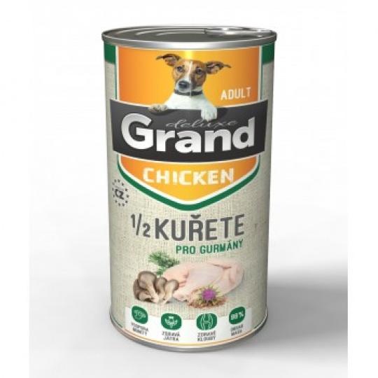 Grand Deluxe 100% Kuracie s 1/2 kuraťa 4 x 1 300 g