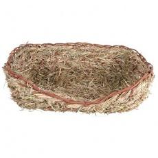 Hnízdo z trávy pro králíky 33x12x26 cm