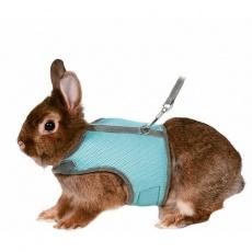 Postroj VESTA s vodítkem pro zakrslého králíka 25-32cm/1,2m