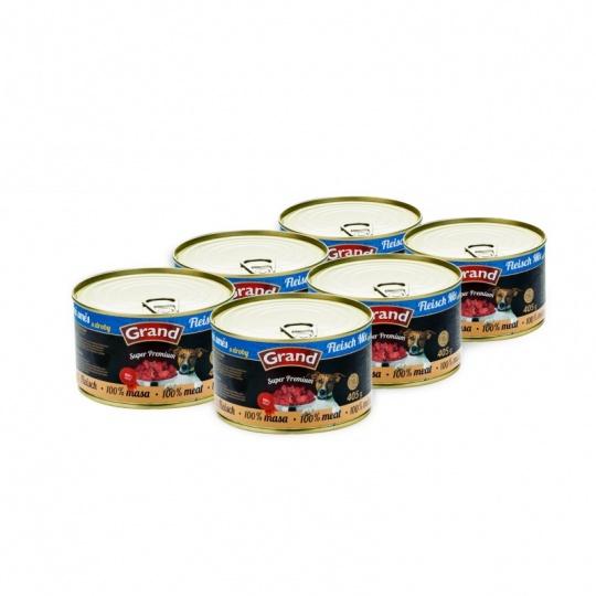 Grand SuperPremium Meat Mix 6 x 405 g