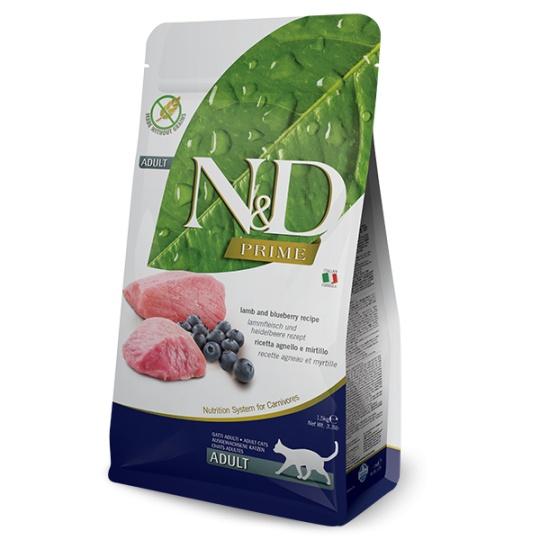 N&D Cat Prime ADULT Lamb & Blueberry 1,5 kg