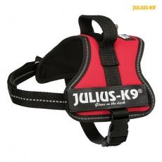 Julius-K9 silový postroj Mini-Mini/S 40-53 cm,  - červená
