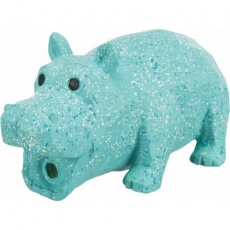 Hippo, latexový hroch s výplní, se zvukem, vzhled kámen, 15cm