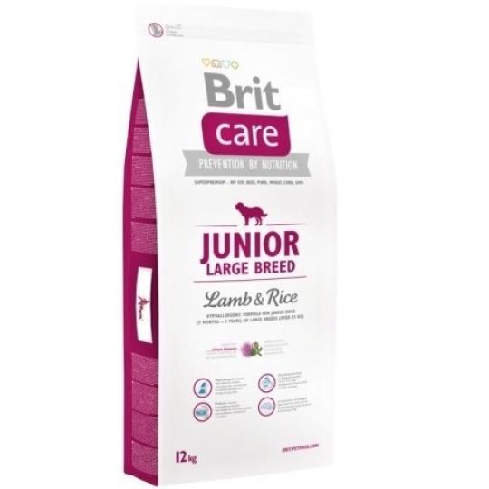 Brit Care Dog Junior Large Breed Lamb & Rice 12kg