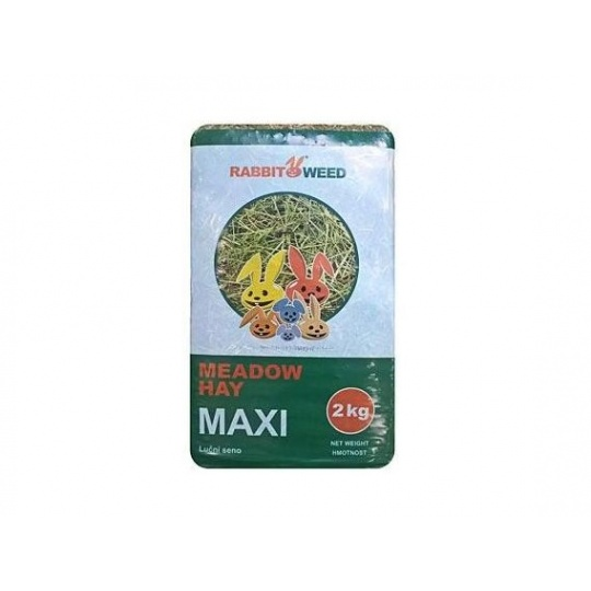 Seno lúčne Maxi RabbitWeed 1kg 40l