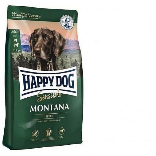 Happy Dog Supreme Sensible Montana Konské mäso & zemiaky 10 kg + DOPRAVA ZADARMO
