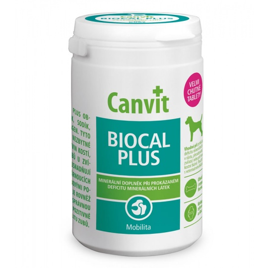 Canvit Biocal Plus ochutený 500 g