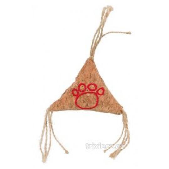 TRIXIE Korkový triangel  hračka pre mačky 7 cm