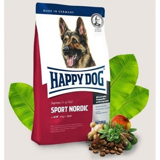 Happy Dog Adult Sport Nordic 15 kg + DOPRAVA ZDARMA