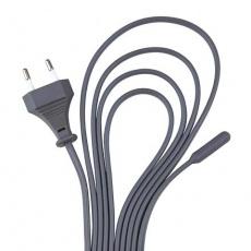 Topný kabel, silicon, jednošňůrový 50 W/7 m (RP 2,90 Kč)