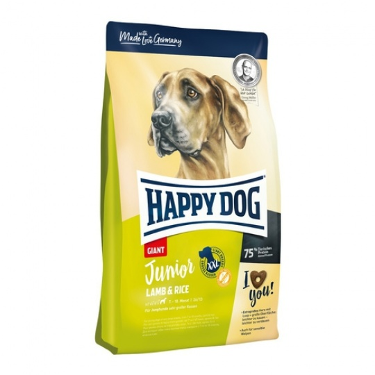 Happy Dog Junior Giant Lamb & Rice 15 kg  + DOPRAVA ZDARMA
