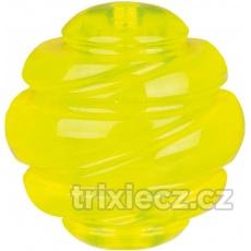 SPORTING tvrdá lopta  TPS 8 cm žltá
