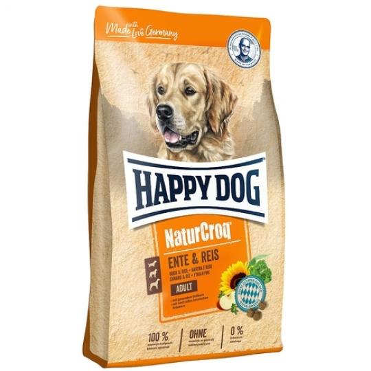 Happy Dog NaturCroq Ente & Reis 12 kg + DOPRAVA ZDARMA