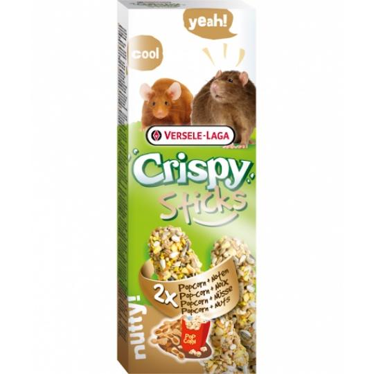 Versele Laga Crispy Sticks Popcorn & Oriešky 2 ks 110 g