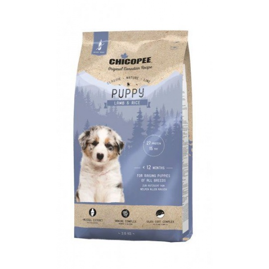 Chicopee Classic Nature Mini Puppy Lamb & Rice 15 kg