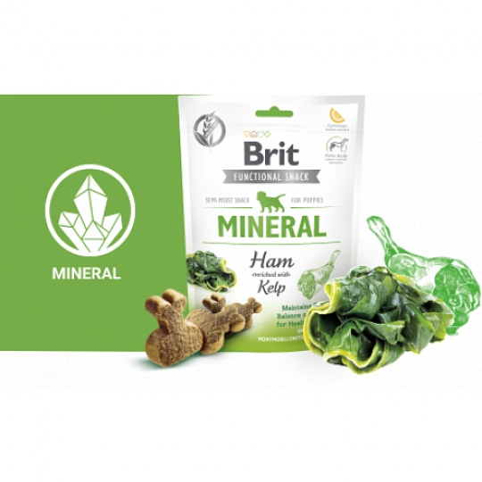 Brit Care Dog Functional Snack Mineral Ham for Puppies 150 g