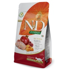 N&D Pumpkin CAT Neutered Quail & Pomegranate 1,5 kg