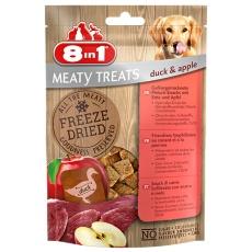 8in1 Freeze Dried Meaty Treats 50 g kačka s jablkom
