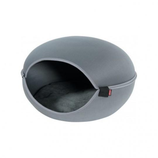 Zolux Pelech/domek pre mačky LOUNA šedá