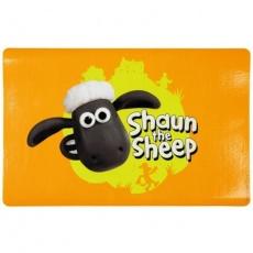 Ovečka Shaun prostírání pod misky s hlavou,oranžová  44x28cm - DOPRODEJ