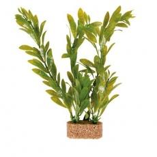 Plastové rostliny s podkladovým pískem 20 cm - DOPRODEJ