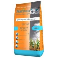 Nativia Cat Adult Salmon & Rice Active 2x10kg