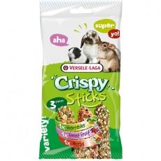 Versele Laga Crispy  Sticks Herbivores Tri príchuťe 3 ks 165 g