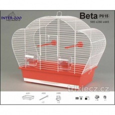 Klec BETA - bílá 560x280x440mm -