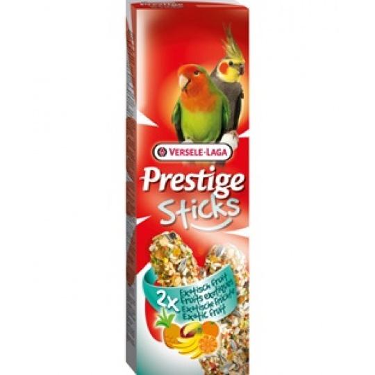 Versele Laga Prestige Sticks Big Parakeets Exotic Fruit Tyčinky pre papagáje s ovocím 140 g (2ks)