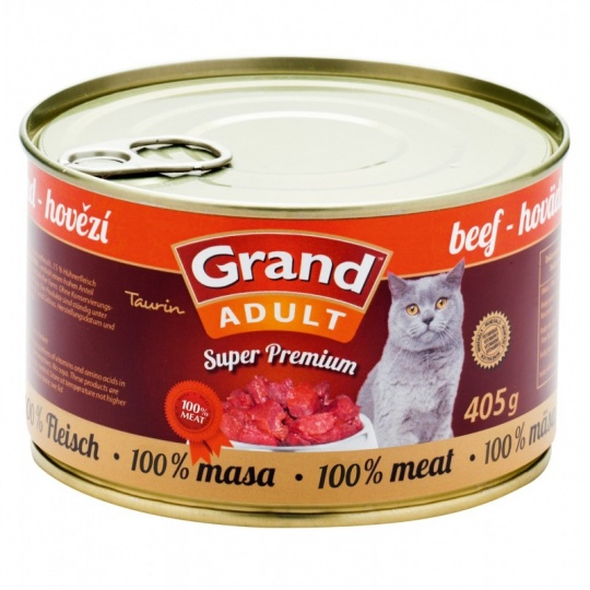 Grand SuperPremium Cat Hovädzie 6 x 405 g