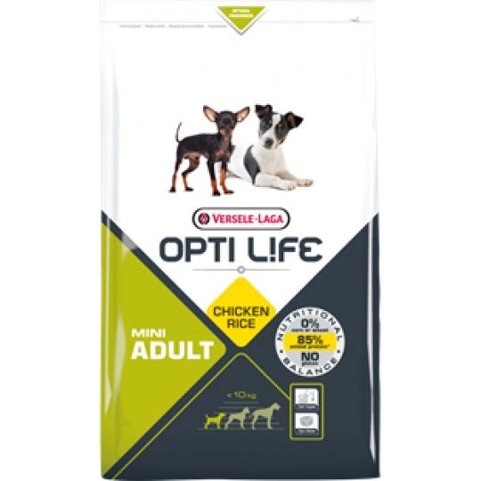 Versele Laga Opti Life Dog ADULT Mini 2,5 kg