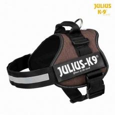 Julius-K9 silový postroj Mini-Mini/S 40-53 cm, kávová hnědá - DOPRODEJ