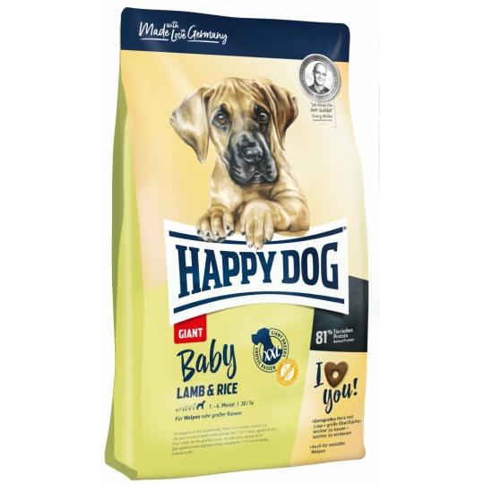 Happy Dog BABY GIANT Lamb & Rice 15kg  + DOPRAVA ZDARMA