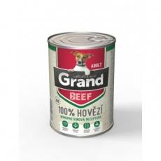 Grand Deluxe 100% Hovädzie Adult 6 x 400 g