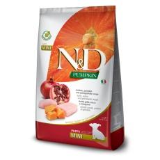 N&D Dog Pumpkin Puppy Mini Chicken  & Pomegranate 7 kg