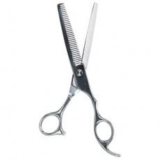 Profesionální efilační nůžky, s nastavit. šroubem 18 cm