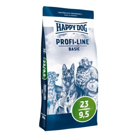 Happy Dog Profi Line BASIC 23/9,5    20 kg + DOPRAVA ZDARMA