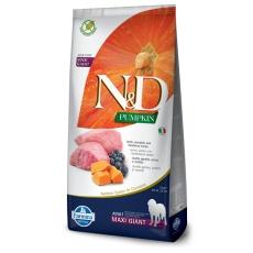 N&D Dog Pumpkin Adult Giant Lamb & Blueberry 12kg