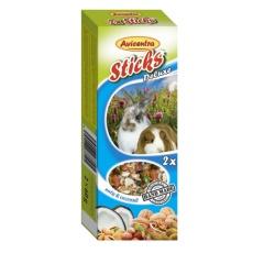 Avicentra Tyčinky deluxe s orechmi a kokosom pre králíkov, osmákov a dalšie hlodavce ( 2ks ) 120 g