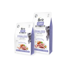 Brit Care Cat Grain-Free STERILIZED AND WEIGHT CONTROL 7 kg