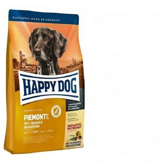 Happy Dog Supreme Sensible Piemonte Kačica & Morské ryby 1 kg