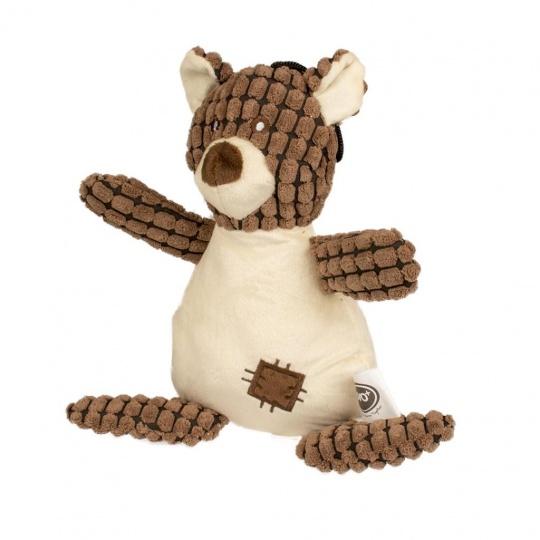Hračka DUVO+ Plyšový medveď, pískajúci 30 cm